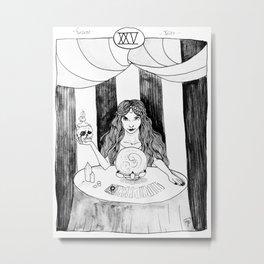Fortune Teller Metal Print