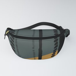 Natural Pattern Fanny Pack