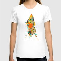 rio T-shirts featuring Rio  by Nicksman