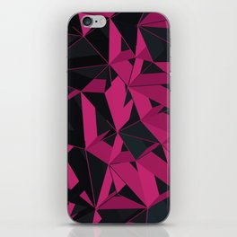 3D Futuristic GEO III iPhone Skin