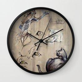 Felis catus Wall Clock