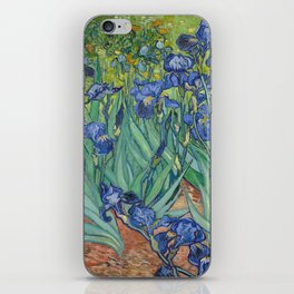 Irises by Vincent van Gogh iPhone Skin