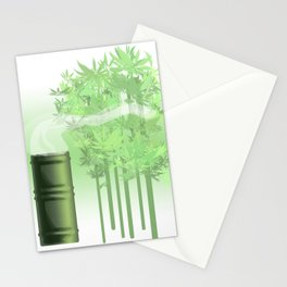 Green Tea Stationery Cards