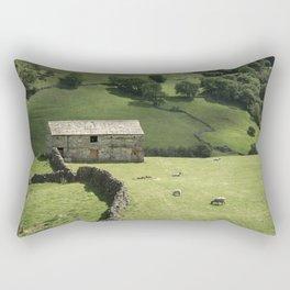 Walls and Barns Rectangular Pillow