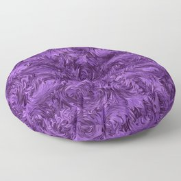 Marbled Paisley - Purple Floor Pillow