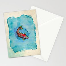 Small Fish. Small Pond. Stationery Cards