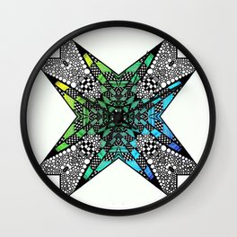 [octagon tunnel] Wall Clock