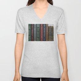 Dickens Books Unisex V-Neck