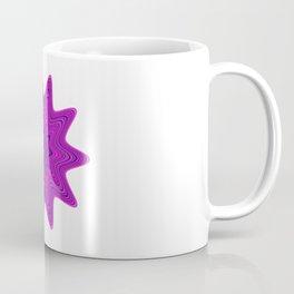 Violet abstract star Coffee Mug