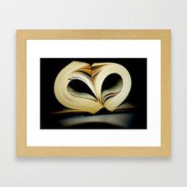 For the Love of Reading Framed Art Print