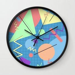 Memphis #6 Wall Clock