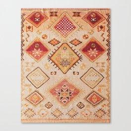 Traditional Oriental Desert Bohemian Moroccan Style  Canvas Print