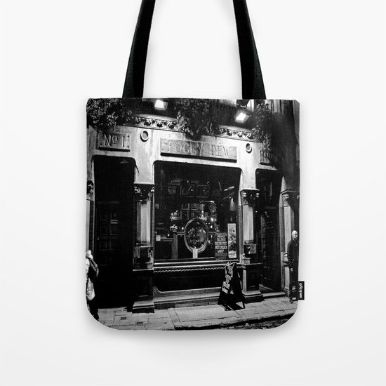 The Foggy Dew Pub Tote Bag