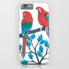 Red Parrots Slim Case iPhone 6s