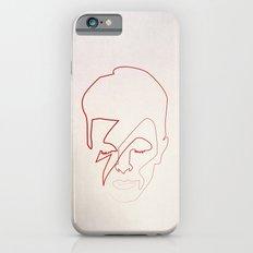 One line Aladdin Sane iPhone 6 Slim Case