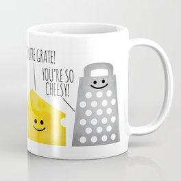 Cheesy Couple Coffee Mug