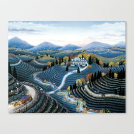 Hudson Valley by Kathy Jakobsen Canvas Print