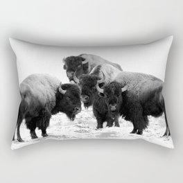 Bisons, buffalos Rectangular Pillow