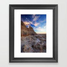 Badlands, South Dakota Framed Art Print