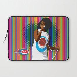 Gladys Subway Soul by Dawn Carrington Laptop Sleeve