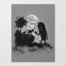 The Friendly Visitor Canvas Print