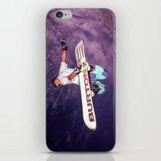 Snowboarding #2 iPhone & iPod Skin
