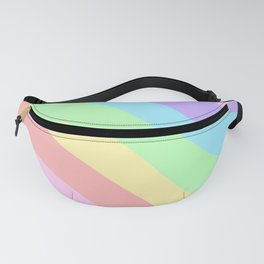 Unicorn Retro Summer Wave #1 #minimal #decor #art #society6 Fanny Pack