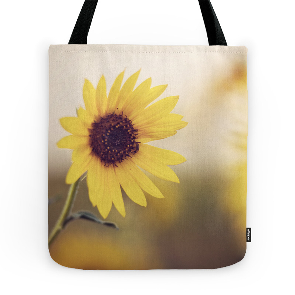 Sunflower Tote Bag by jessicatorres