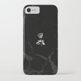 Forever Petal (Black Silver) iPhone Case