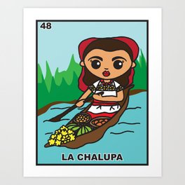 La Chalupa Art Print