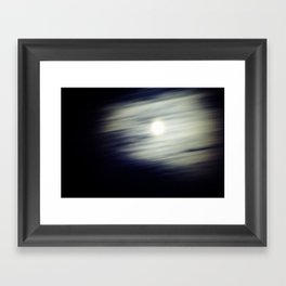 Me and the Moon Framed Art Print
