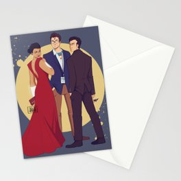 JLA Trinity Stationery Cards