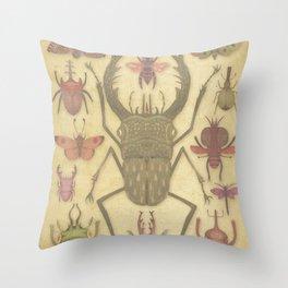 Entomologist's Wish II Throw Pillow