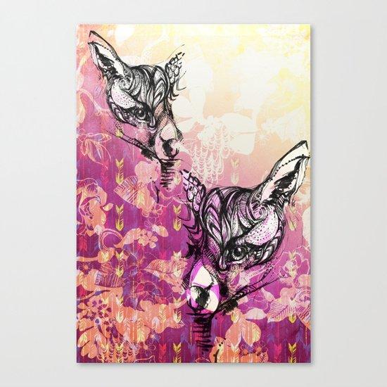 Foxy Loxy Canvas Print
