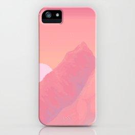 Peach Haze iPhone Case