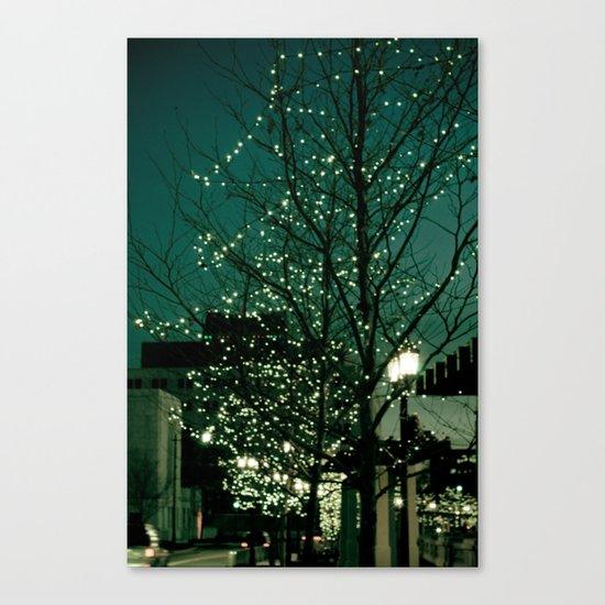 Twinkle Lights Canvas Print