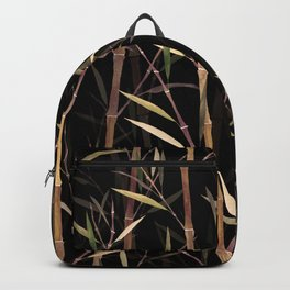Dry Bamboo Forest at Night Backpack