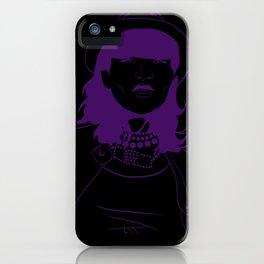 Run Purple Run iPhone Case