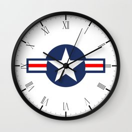 USAF Markings Wall Clock