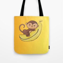 monkey 3 Tote Bag