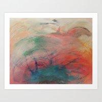chakra Art Prints featuring Chakra Dance by Marianne Johansen
