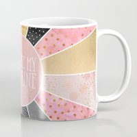 you are my sunshine Mugs featuring You are my sunshine by Elisabeth Fredriksson