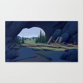C ∆ V E Canvas Print