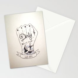 Dirty - Dirty Stationery Cards