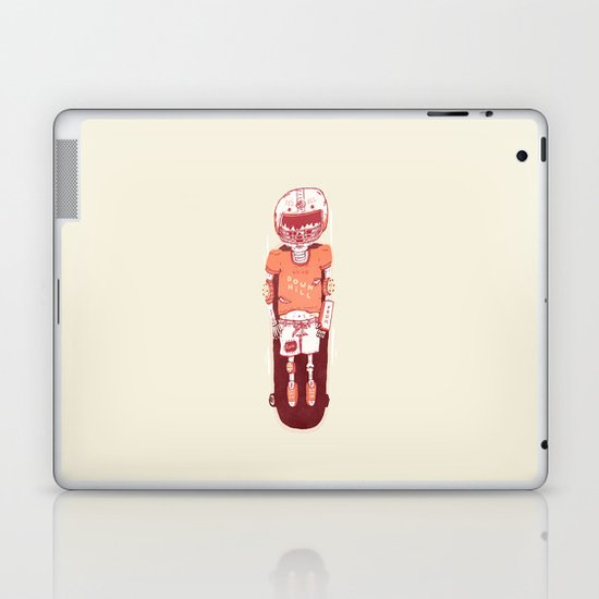 It's All Going Downhill From Here Laptop & iPad Skin