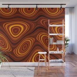 Amber Lava 22 Hi Res Wall Mural