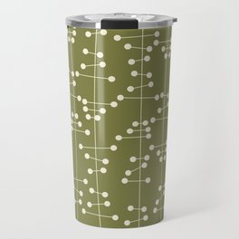 Mid Century Seaweed Travel Mug
