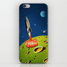 The World Of Outer Space Travel iPhone Skin