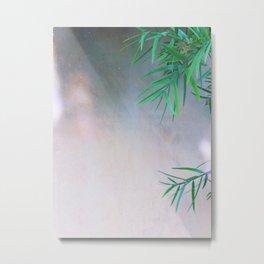 Green / Grey Metal Print