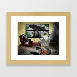 When The Past Won't Die Framed Art Print